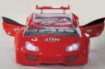 Arabalı Yatak GT999 Kapısı Açılan Kırmızı - www.dekorsanal.com