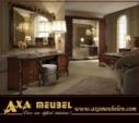 ****AXA WOISS Meubelen / klasik fındık rengi italyan tarzı yatak odası takımı 4 4699