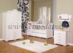ERMODA Modüler Mobilya / Mercan Bebek Odası 4 Parça  KARGO ÜCRETSİZ
