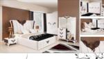 EVGÖR MOBİLYA / Özel İşlemeler Ekselans Avangarde Yatak Odası