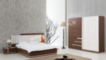 EVGÖR MOBİLYA / Güzel Modern Yatak Odası