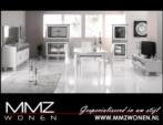 MMZ WONEN / Klasik oturma odasi takimi italyan design - Aynali dressoir vitrinler - Yemek masasi - Beyaz