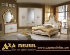 .AXA WOISS Meubelen / harika bir tasarım lux parlak klasik yatak odası takımı  55 7840