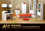 .AXA WOISS Meubelen / gençlere yakışır bir oda - modern tasarımlı genç odası