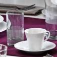 Alkapida.com Türkiye / Kütahya Porselen Cisil 2 Kişilik Su Bardaklı Kahve Fincan Takımı