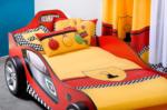 Çilek Cilek Yarisci Turbo Arabali Yatak - Çilek Belçika