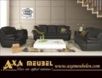 .AXA WOISS Meubelen / hem rahat hem de şık swarovski taşlı lux deri koltuk takımı 45 1324