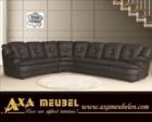 ****AXA WOISS Meubelen / rahat şık ve konforlu deri swarovski taşlı köşe koltuk takımı 45 1324