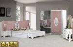 EsAs Möbel / Kral Yatak Odasi (Pembe Renk)