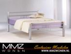 MMZ WONEN / modern metal yapimi cift kisilik yatak