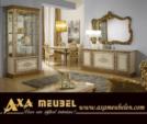 ****AXA WOISS Meubelen / 55 7948  altın rengi yemek odası takımı