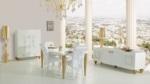 arge mobilya  /  avangarde yemek odası