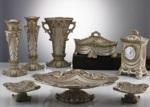 Alkapıda.com / Çıdam Seramik Samanyolu Serisi Konsol Set Gümüş