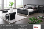 Royal Meubel & Bedden & Boxsprings / Mcda73 Modern yatak siyah