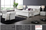 Royal Meubel & Bedden & Boxsprings / mcda 73 Modern beyaz yatak