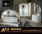 ****AXA WOISS Meubelen / parlak ve göz alıcı lüks beyaz Yatak Odası takımı