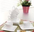 Alkapıda.com / Noble Life Jewel Porselen Kahve Fincan Takımı 13744