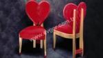 EVGÖR MOBİLYA / Mutluluk Kalpli Sandalye