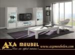 .AXA WOISS Meubelen / modernbeyaz parlak yemek odası takımı  34 7873