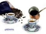 Alkapıda.com / Kütahya Porselen Topkapı 6 Parça  Türk Kahvesi Fincanı