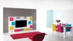 EVGÖR MOBİLYA / Monura Modern Renkli Tv Ünitesi
