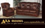 ****AXA WOISS Meubelen / farklı bir tasrıma sahip klasik deri koltuk takımı