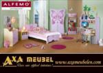 .AXA WOISS Meubelen / Alfemodan kelebeklere yakışır bir genç odası