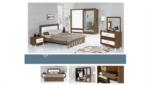 EVGÖR MOBİLYA / Muhteşem Akasya Modern Yatak Odası