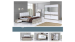 EVGÖR MOBİLYA / Süper Teklif Kariyer Modern Yatak Odası
