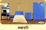 Morelli Kanepe / blue genç odası takımı