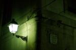 Alkapıda.com / Tek Bir Sokak Lambası Canvas Tablo dkrtf-672