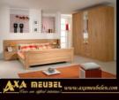 .AXA WOISS Meubelen / farklı bir tasrıma sahip kayın rengi yatak odası takımı