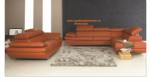 Royal Meubel & Bedden & Boxsprings / Gala Modern design Italyan Deri koltuk takimi