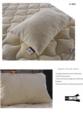 Bebek Ev Tekstili / Organic Pamuk Yastık (İçerisi Silikon Dolgulu)