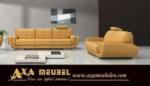 .AXA WOISS Meubelen / Modern ve şık tasarımlı hakiki deri oturma grubu / koltuk takımı