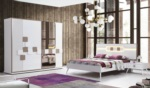 Yıldız Mobilya / Compact Beyaz Yatak Odası