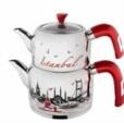 Alkapıda.com / Mimarsinan Şehrazat Desenli Büyük Boy Çaydanlık I-1305