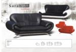 MMZ WONEN / modern italyan design koltuklar - deri kumasli kirmizi siyah beyaz - krom ayakli