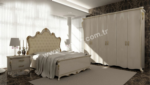 EVGÖR MOBİLYA / Klasik ve Estetik Tasarım Vezir Klasik Yatak Odası