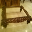 yildizhan antique & mobilya / oyma orta sehpa