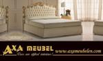 .AXA WOISS Meubelen / Zarif barok stili ve ince işçilik ile tasarlanmış boxspring yatak 53 VK BP20