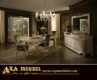 .AXA WOISS Meubelen / altın renkli şahane tasarımı ile klasik parlak lüx yemek odası takımı