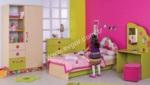 EVGÖR MOBİLYA / Kontes Kız Çocuk Odası