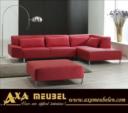 .AXA WOISS Meubelen / deri / kumaş köşe koltuk takımı oturma grubu 24 7233
