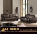 .AXA WOISS Meubelen / Deri Oturma grubu köşe koltuk takımı 24 7230