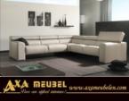 .AXA WOISS Meubelen / hareketli katlanabilir başlıklı ergonomik deri koltuk takımı