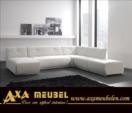 .AXA WOISS Meubelen / modern şık estetik deri köşe koltuk