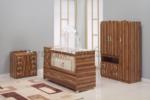 ERMODA Modüler Mobilya / Ermoda Sedef Bebek Odası 3 Parça KARGO ÜCRETSİZ