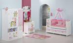 ERMODA Modüler Mobilya / Ermoda Sedef Graffe Baskılı Bebek Odası Takımı
