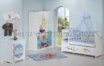 ERMODA Modüler Mobilya / Sedef Sailor Special Asansörlü 60x120 Bebek Odası Takımı